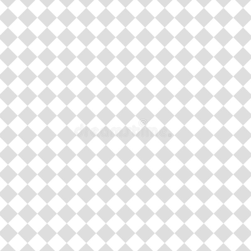 Transparent background. Illustration of white and gray vector squares and rhombuses shapes. Geometric rhomb pattern vector illustration