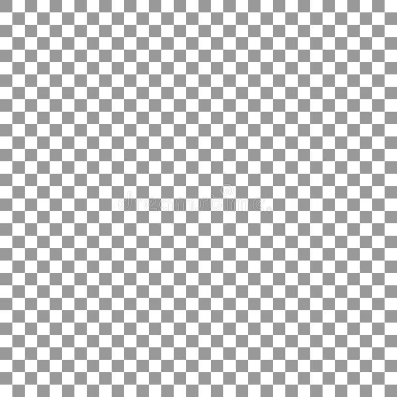 Transparent background. Seamless pattern checkered layout seamless pattern. Grid of squares. Design element royalty free illustration