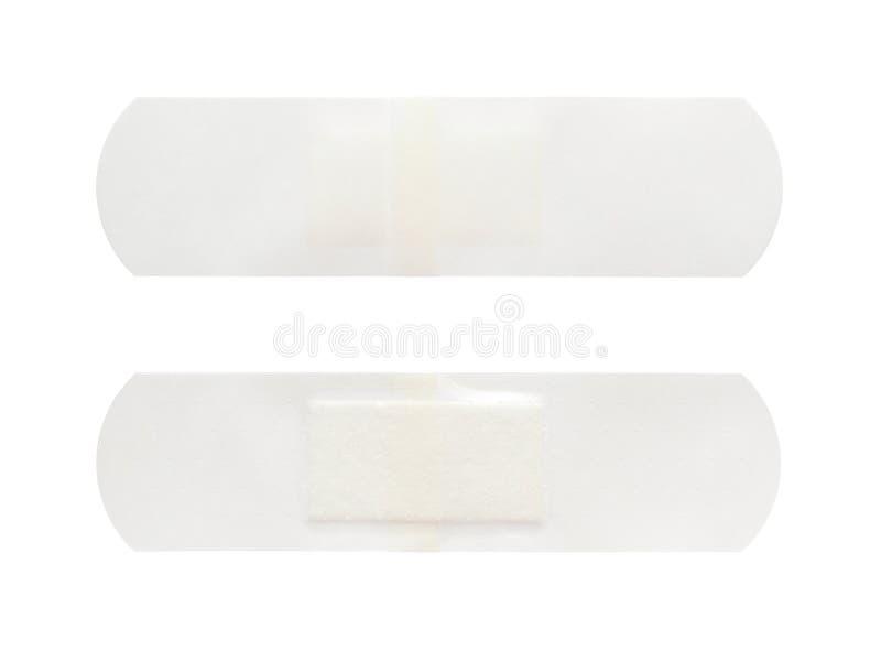 Transparent band aid stock photo