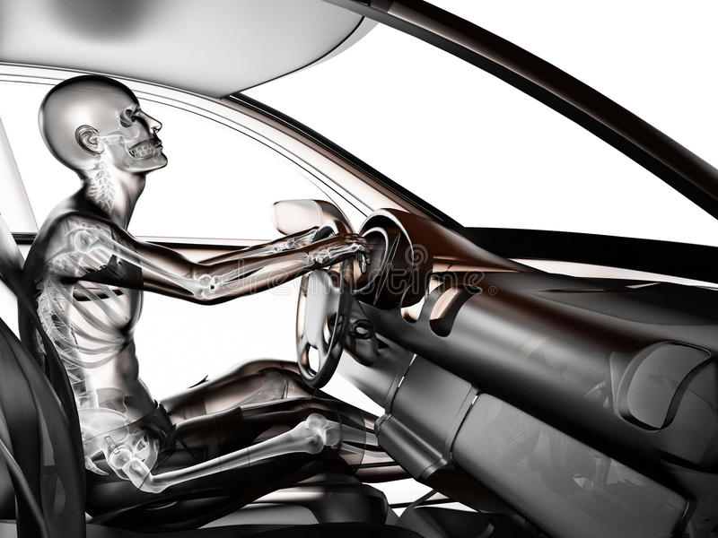 Download Transparent Car Concept With Driver Stock Illustration - Image: 27616505