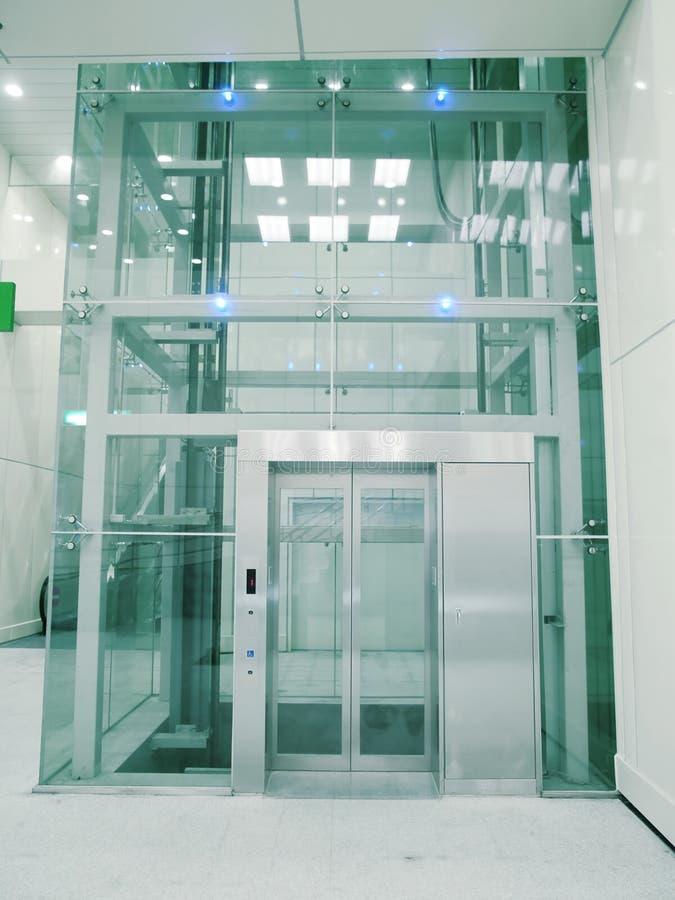Transparent elevator stock photo image of indoor enter for Indoor elevator