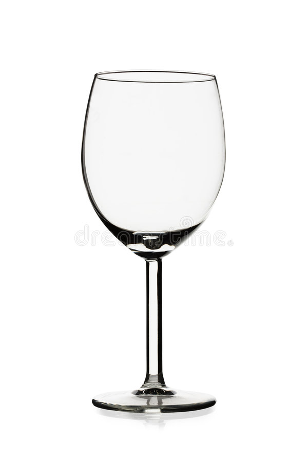 Free Transparent Empty Wine Glass Stock Images - 8253884
