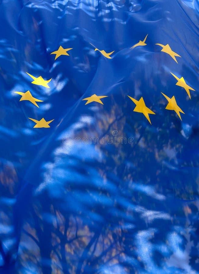 Transparent Flag Of  European Union Royalty Free Stock Image