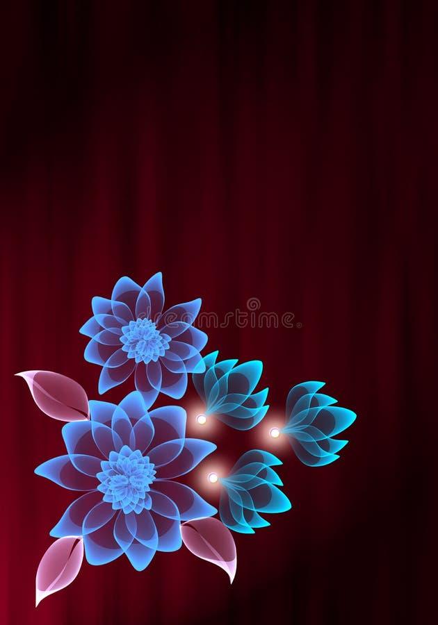 Transparent flower stock photography