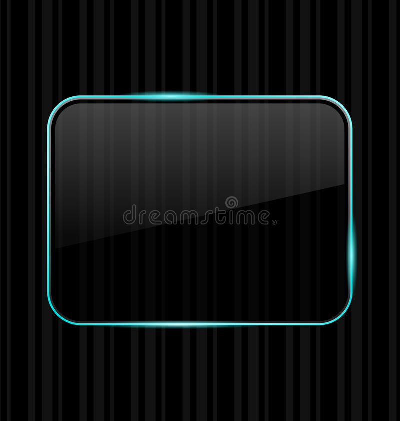 Download Transparent Frame With Reflection Stock Vector - Illustration of banner, abstract: 24589275