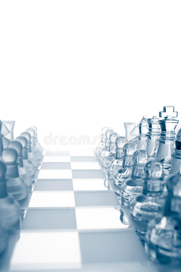 Download Transparent Glass Chess Pieces Stock Photo - Image of image, power: 19008610