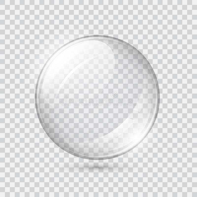 Free Transparent Glass Sphere Stock Photography - 93164102