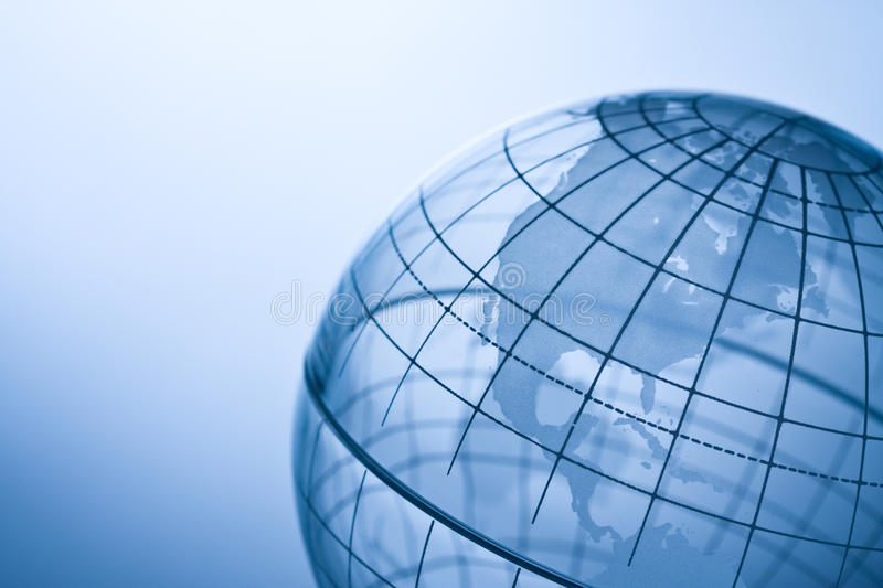 Transparent globe stock photos