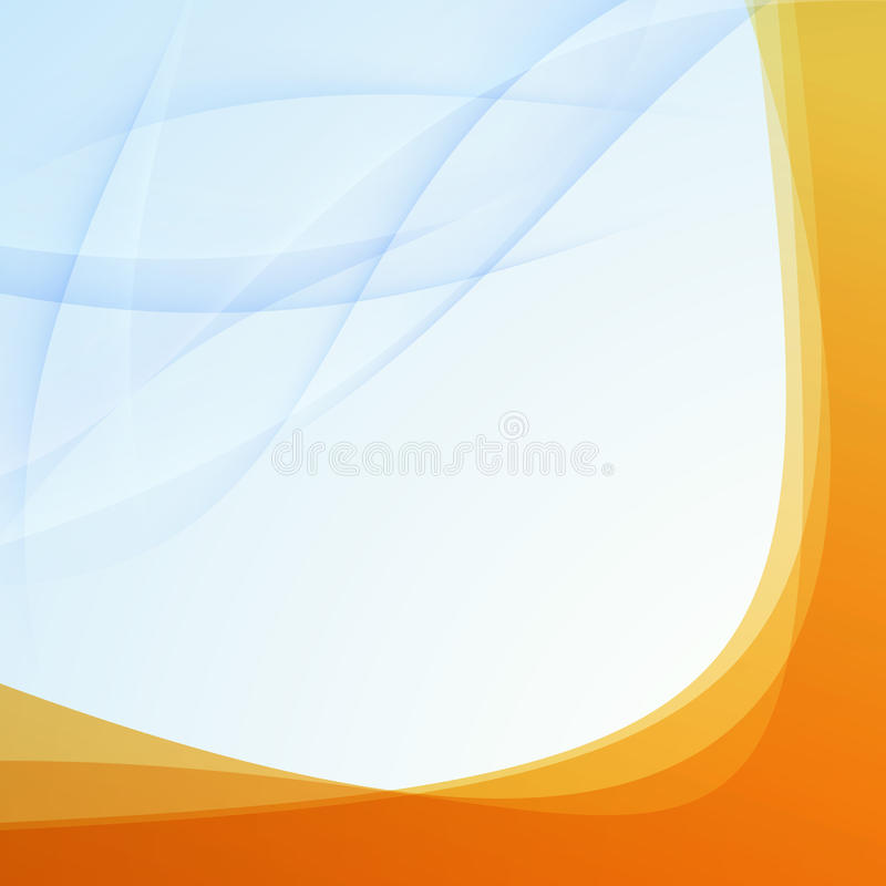 Free Transparent Orange Border Folder Template Royalty Free Stock Photography - 38684347