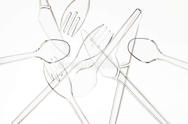 Download Transparent Plastic Cutlery Stock Photo - Image: 35318368