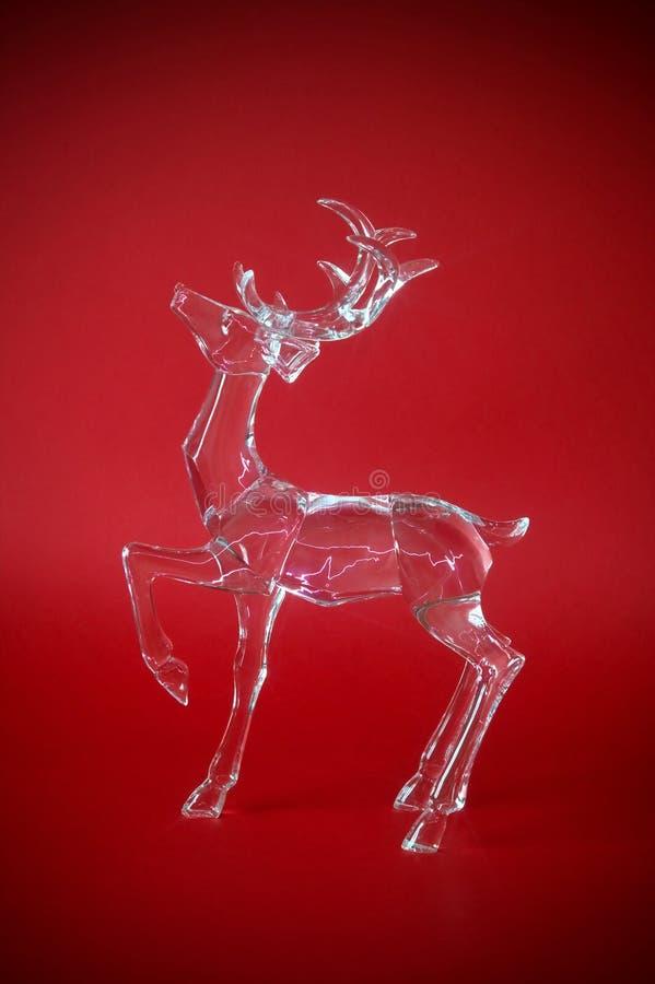 Transparent reindeer royalty free stock photos