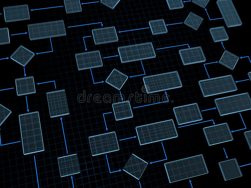 Transparent scheme royalty free illustration