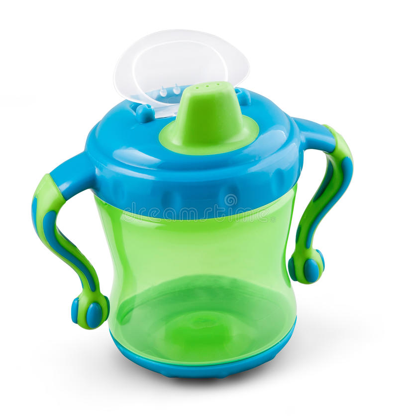 Free Transparent Sip Cup - Nipple - Pacifier Botle For Water Or Milk Stock Images - 61301454