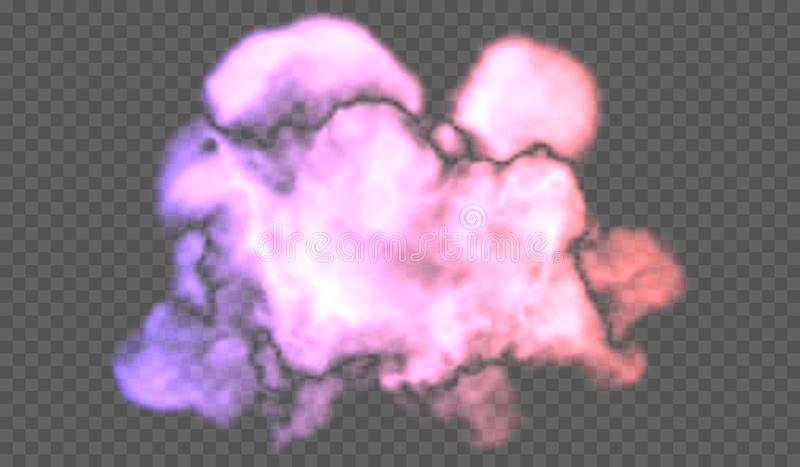 Transparent special effect stands out with fog or smoke. White cloud , fog or smog stock photos