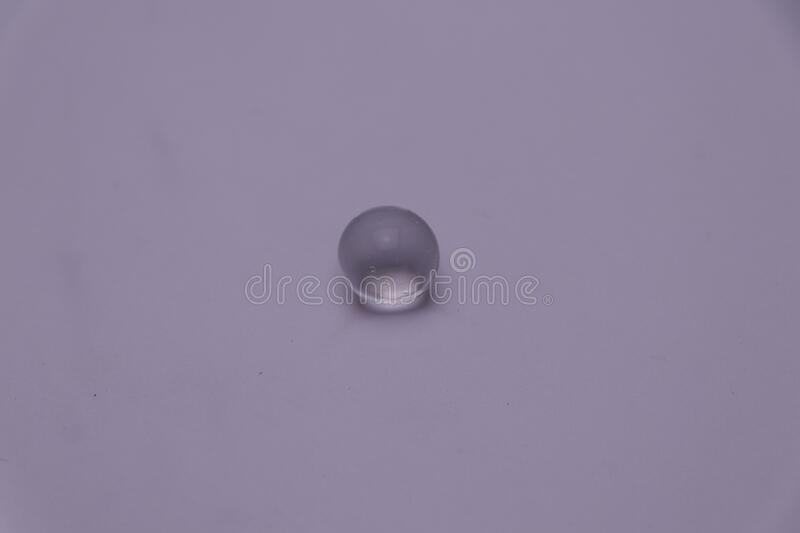 Transparent water bubbles drop with white background. Transparent color water bubbles drop with white background royalty free stock photos
