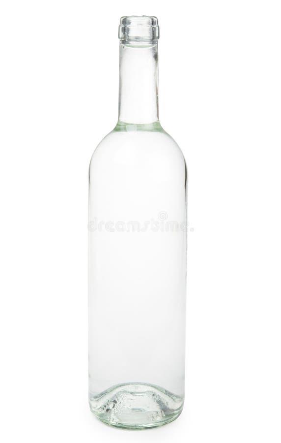 Transparente Flasche lizenzfreies stockfoto