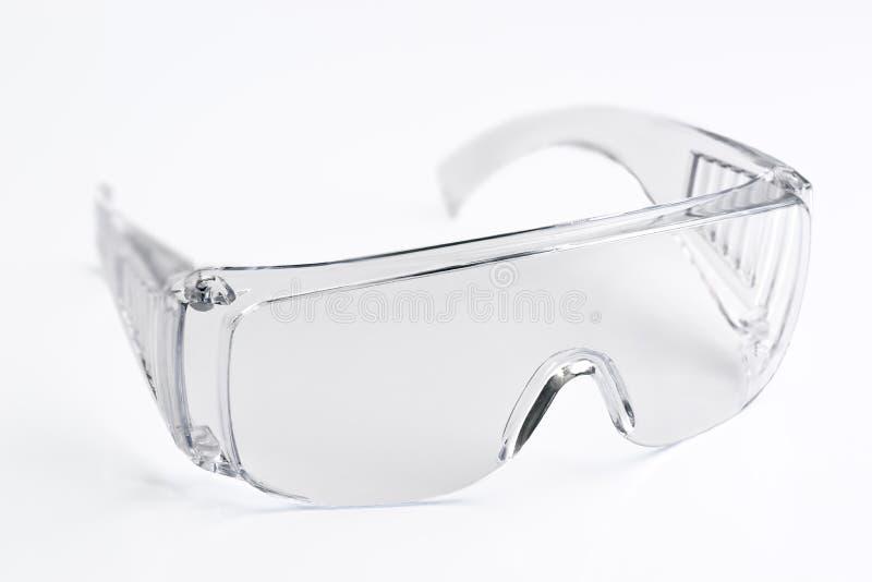 Transparente Glassicherheit lizenzfreie stockbilder