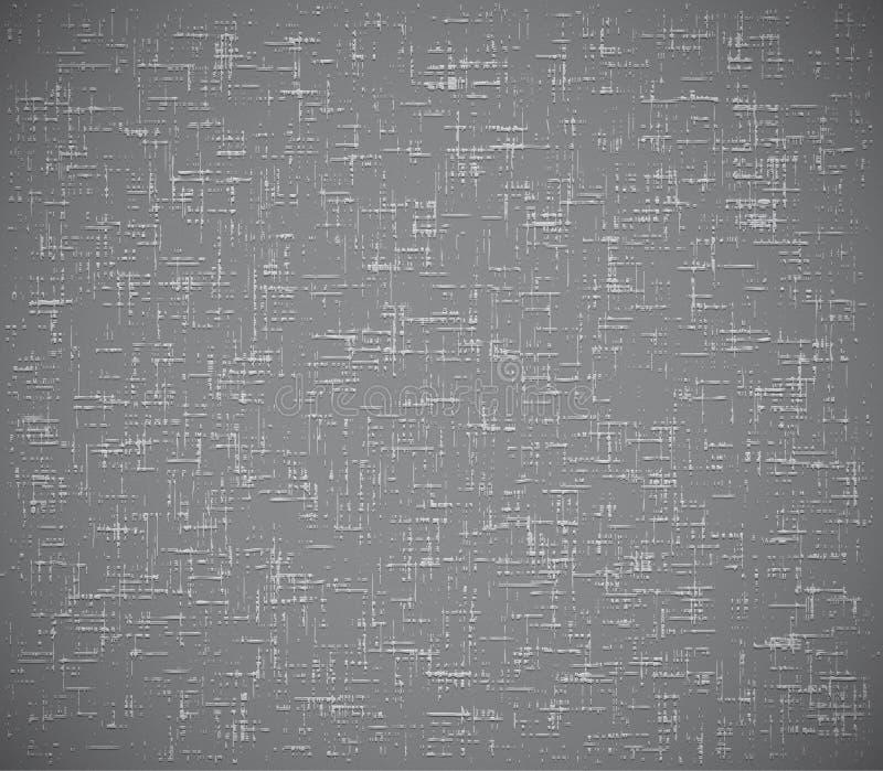 Transparente grabe en relieve el grunge texture.+style stock de ilustración
