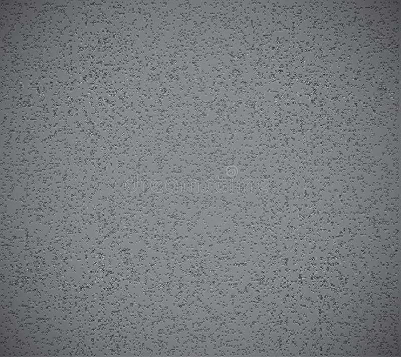 Transparente grabe en relieve el grunge texture.+style ilustración del vector