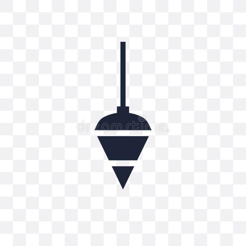 Transparente Ikone des Lotes Lotsymbolentwurf von Constru vektor abbildung