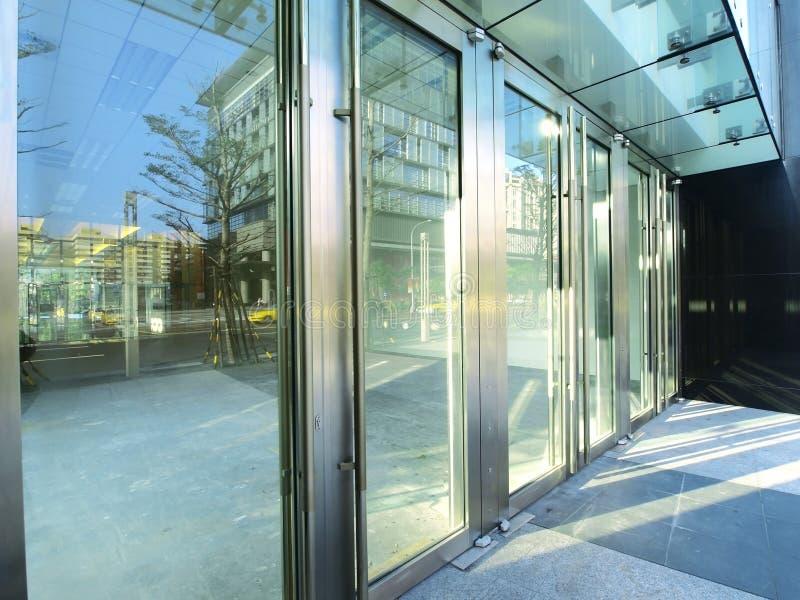 Transparente Tür lizenzfreies stockbild