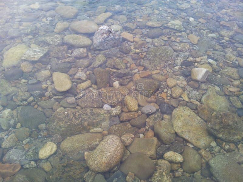 Transparente Wasseroberfl?che mit Kopienraum f?r Hintergrund und Beschaffenheit lizenzfreie stockfotografie