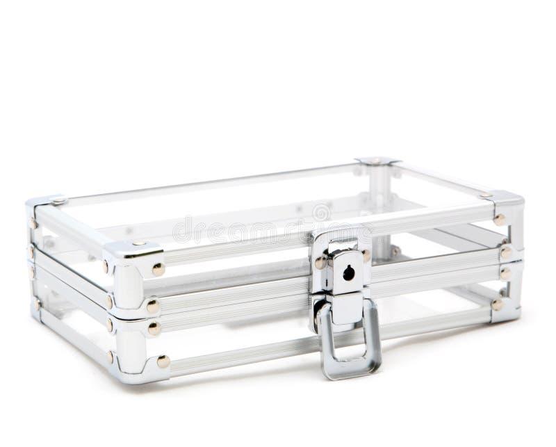 Transparenter Kasten stockbild
