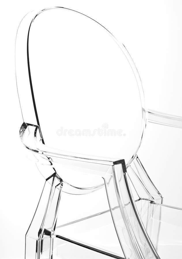 Transparenter stuhl stockbild bild von sitz wei lehnsessel 15256899 - Transparenter stuhl ...