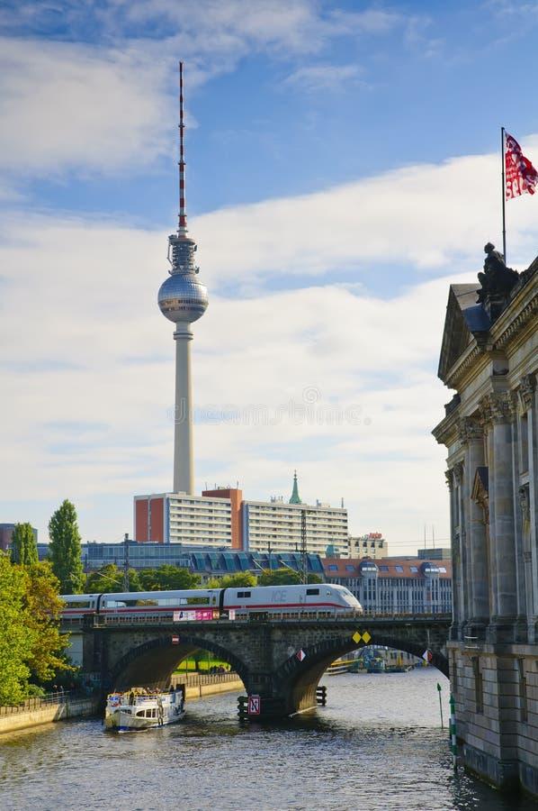 Transport à Berlin photo stock