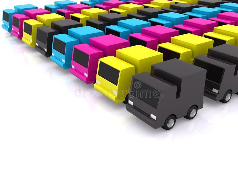 Download Transport stock illustration. Illustration of blue, transport - 10107854