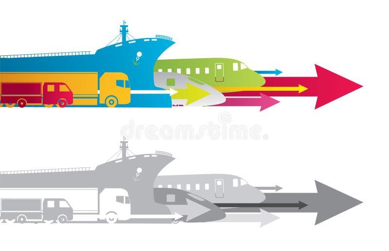 Transport illustration stock