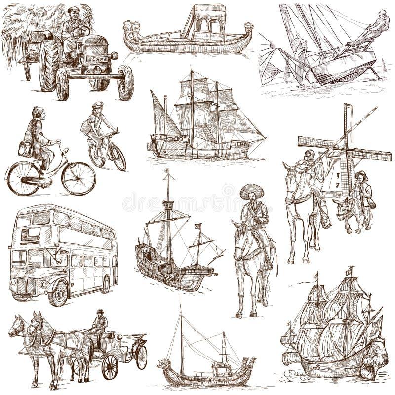 Transport 2 illustration libre de droits