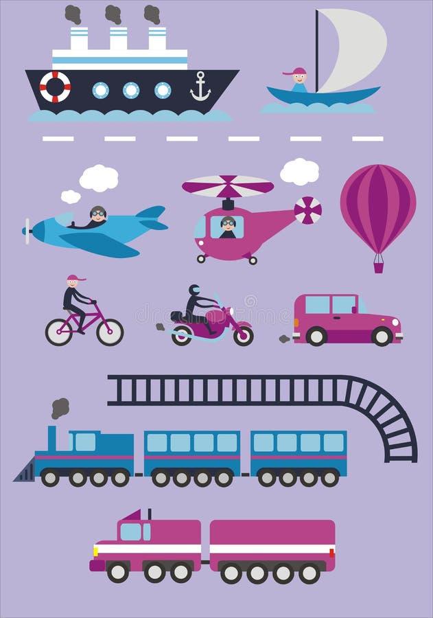 transport illustration libre de droits