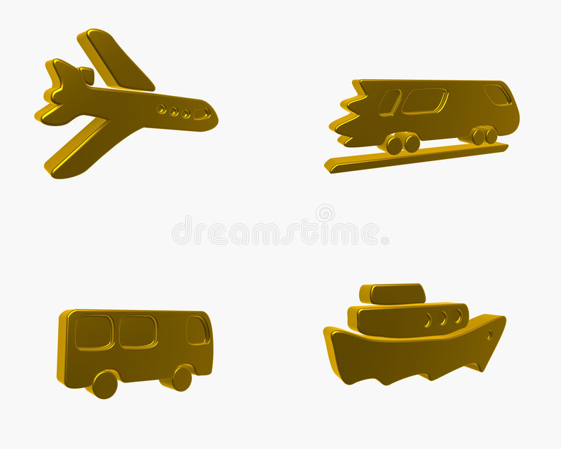 Download Transport stock illustration. Image of isolated, button - 4364721