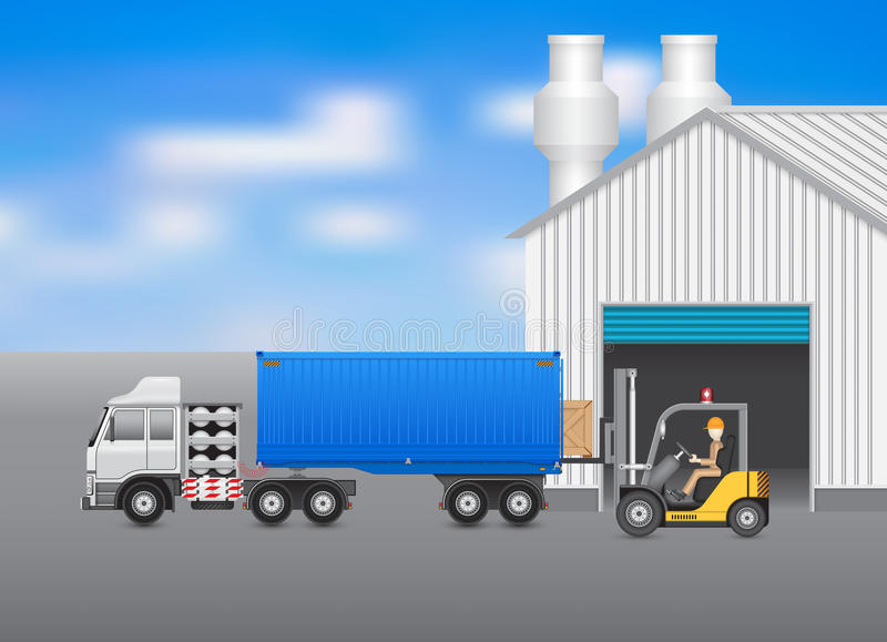 Download Transport ilustracja wektor. Ilustracja złożonej z ważność - 53787240
