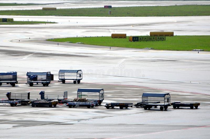 Transport auf dem Luftweg. stockfotografie