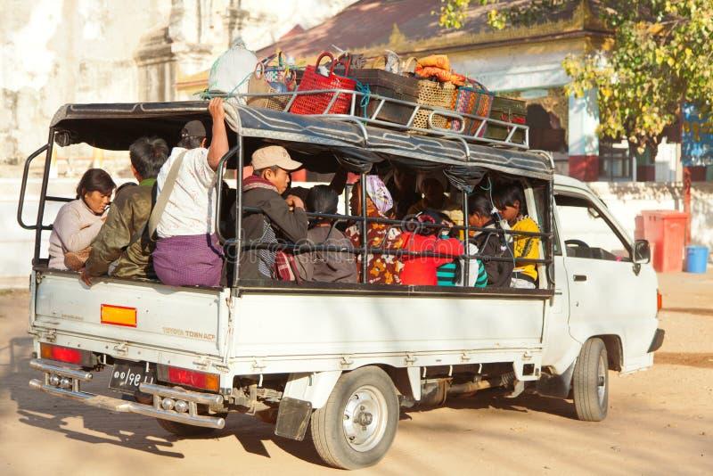 Transport in Bagan, Myanmar stock photo