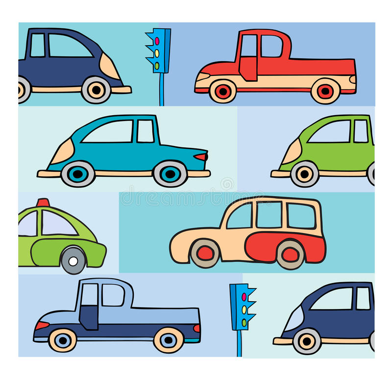 Download Transport in the city stock vector. Illustration of decorative - 22371351