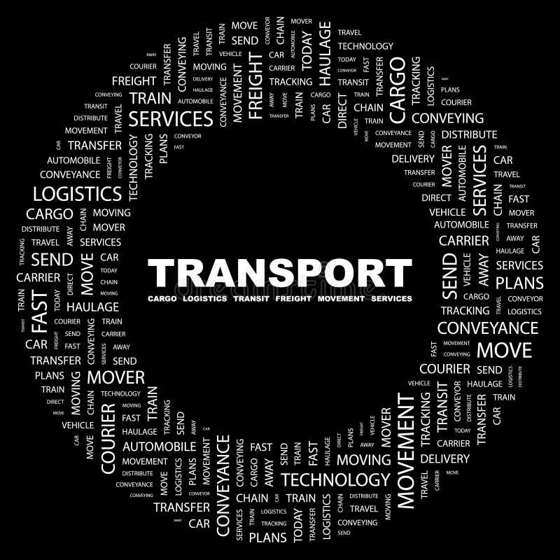 TRANSPORT. stock illustration