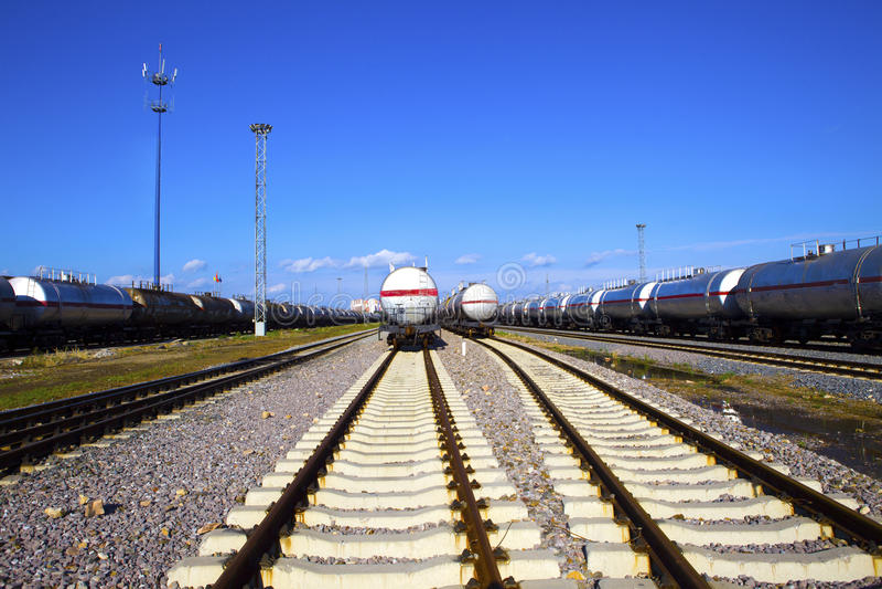 Transport d'huile photo stock