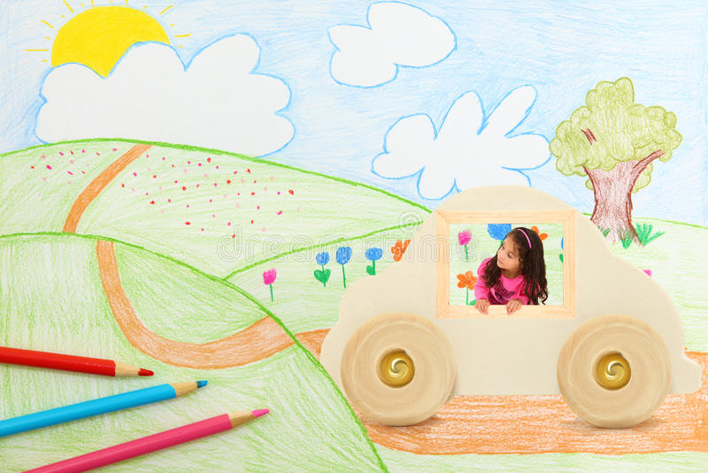Transport d'imagination illustration libre de droits