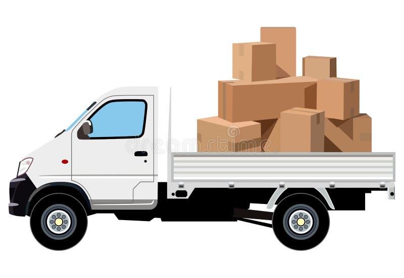 Transport de cargaison illustration de vecteur