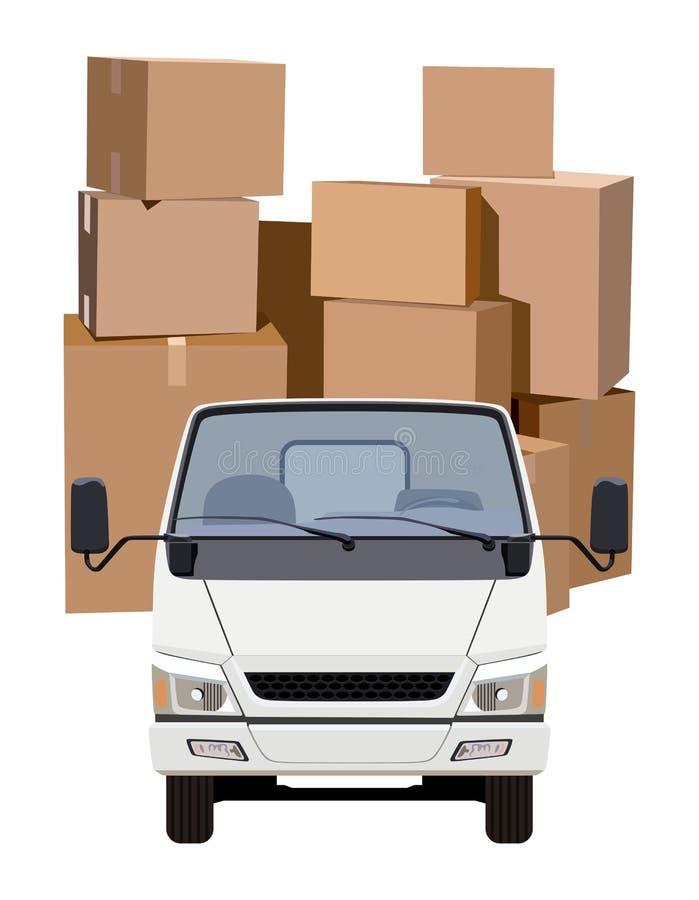 Transport de cargaison illustration stock