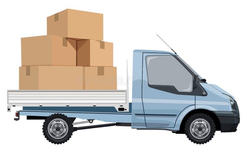 Transport de cargaison illustration libre de droits