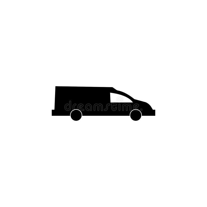 Transport de cercueil Icône de voiture d'if illustration libre de droits
