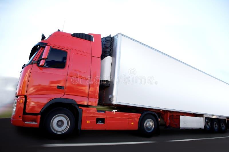Transport de Frigo photos libres de droits
