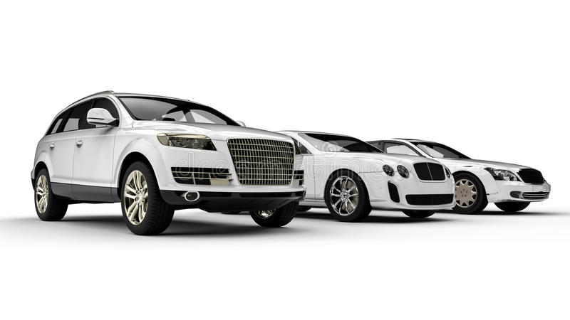 Transport de luxe illustration stock