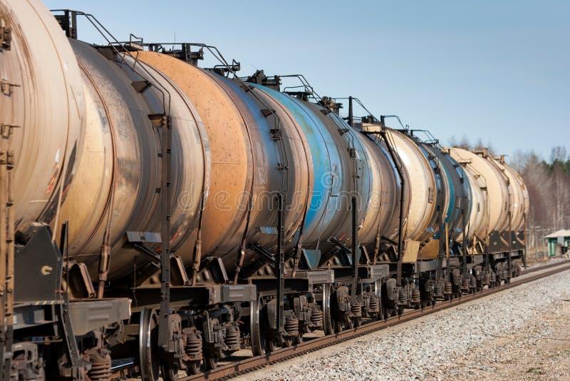Transport de pétrole images libres de droits