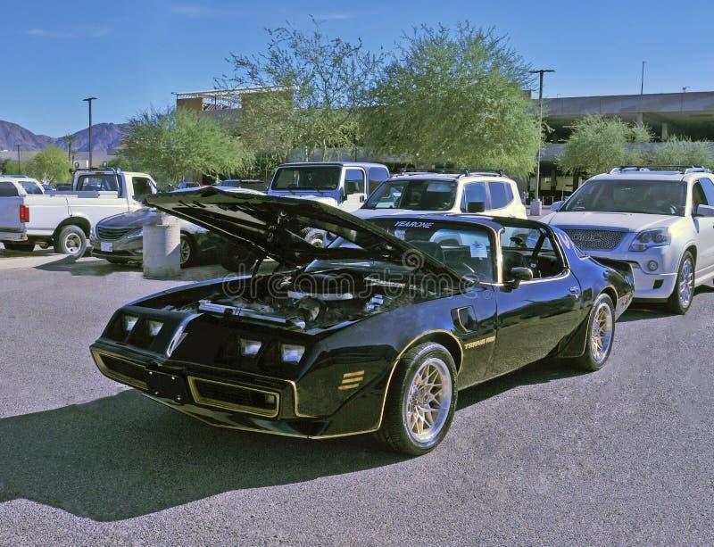 Transport AM de Pontiac avec le toit de T-barre images stock