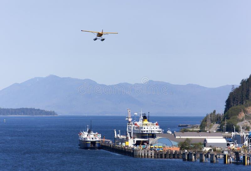 Transport de ville du ` s Ketchikan de l'Alaska photos stock